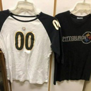 Tops - 2 Pittsburgh Steelers T-Shirts - Women's -